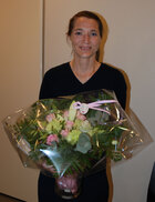 Kaisa Haglund during the ceremony