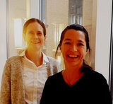 Anita Sveen (left) and Kaisa Haglund are among the supported researchers