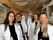 Members of the Laboratory of Adaptive Immunity and Homeostasis