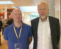 Harald Stenmark (left) and Bjørn Erikstein